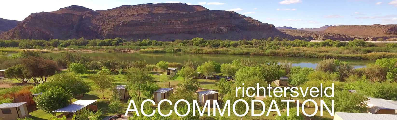 Orange River Rafting accommodation
